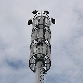 信号杆产品钢件