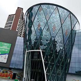 阳江盈信广场雪糕筒造型